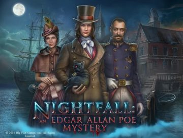 Nightfall: An Edgar Allan Poe Mystery - Review
