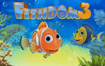 Escape the summer heat with the splashy fun Fishdom 3, for free!