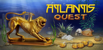 Search for the lost city in the popular Match 3 game, Atlantis Quest!