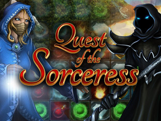 Quest of the Sorceress, a magical mystery Match 3 game that you will love