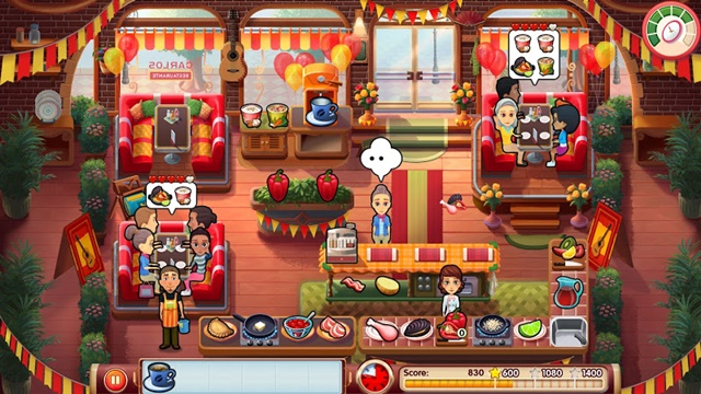 Mary le Chef: Cooking Passion - Screenshot 1