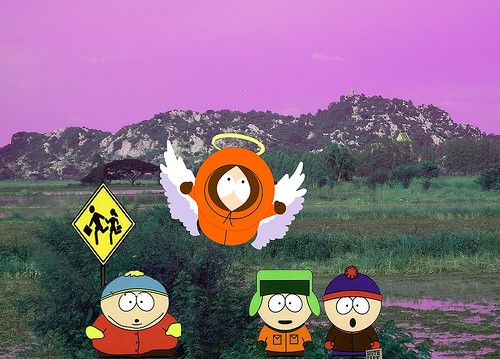 Oh My God, We Killed Kenny on South Park: Phone Destroyer!