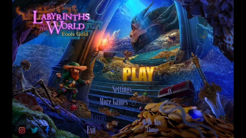 Labyrinths of the World: Fools Gold