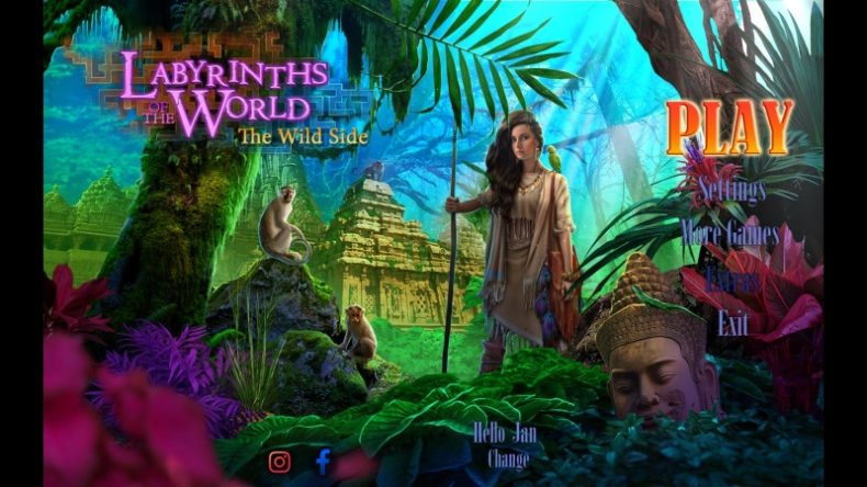 Labyrinths of the World: Wild Side