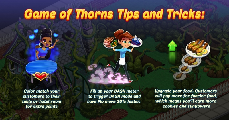 Diner Dash Adventures Tips