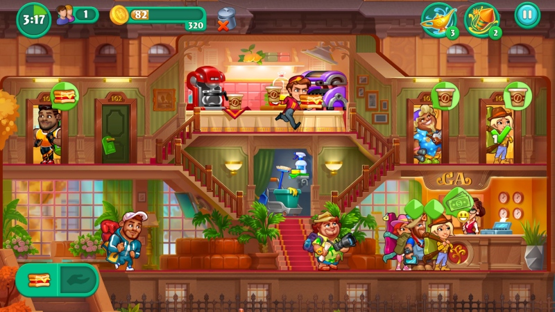 Grand Hotel Mania - Screenshot 1