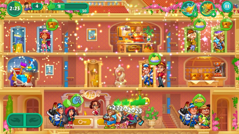 Grand Hotel Mania - Screenshot 3