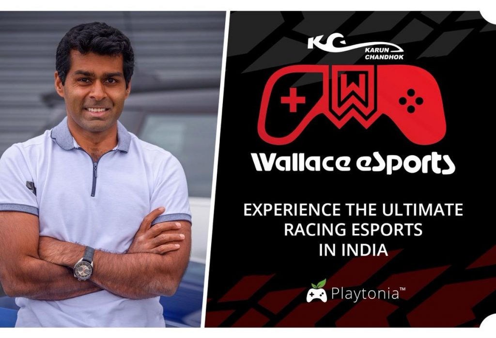 Wallace Esports & Playtonia Introducing Eracing Content To The Next Level